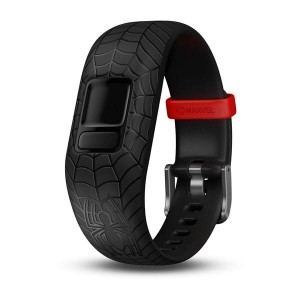 Opaska regulowana Marvel SpiderMan dla Garmin Vivofit Jr. 2 - czarna [010-12666-18]